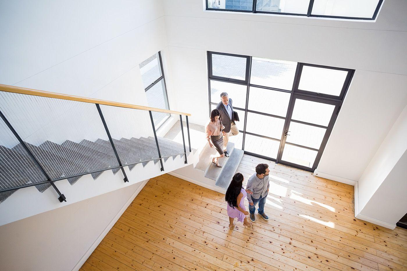 Il mercato immobiliare in aumento nell'ultimo trimestre
